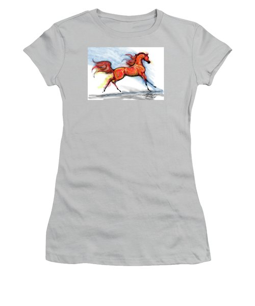 Staceys Arabian Horse Women's T-Shirt (Athletic Fit)