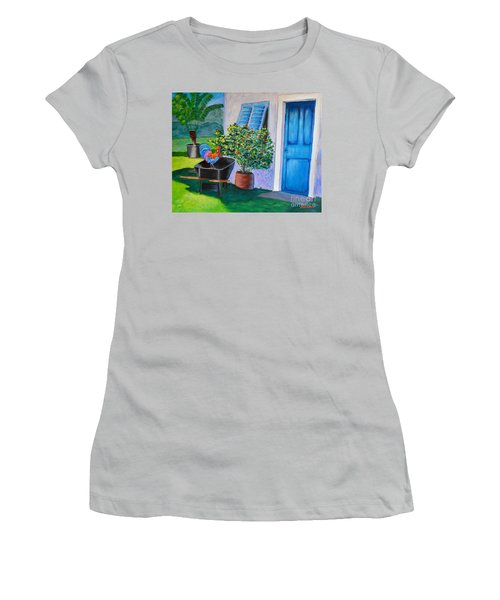 Standing Guard Women's T-Shirt (Athletic Fit)