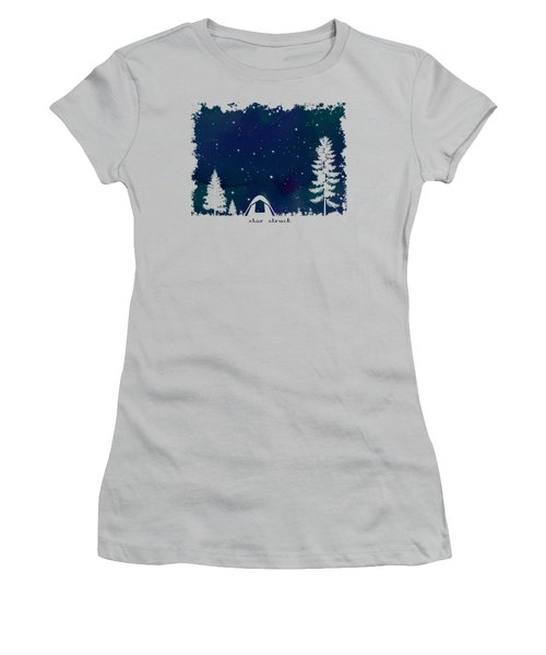 Women's T-Shirt (Junior Cut) featuring the digital art Star Struck by Heather Applegate