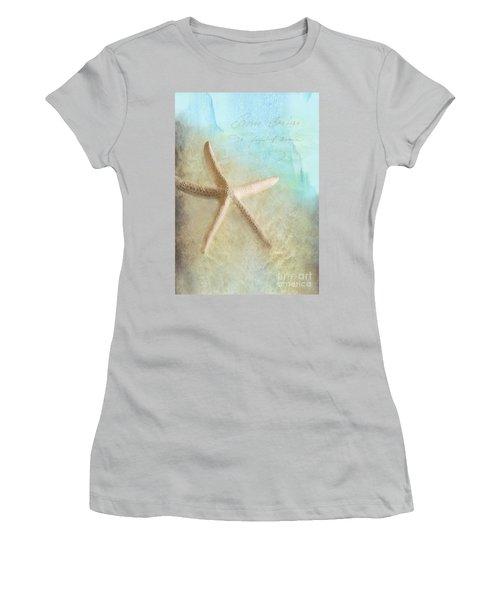 Starfish Women's T-Shirt (Athletic Fit)