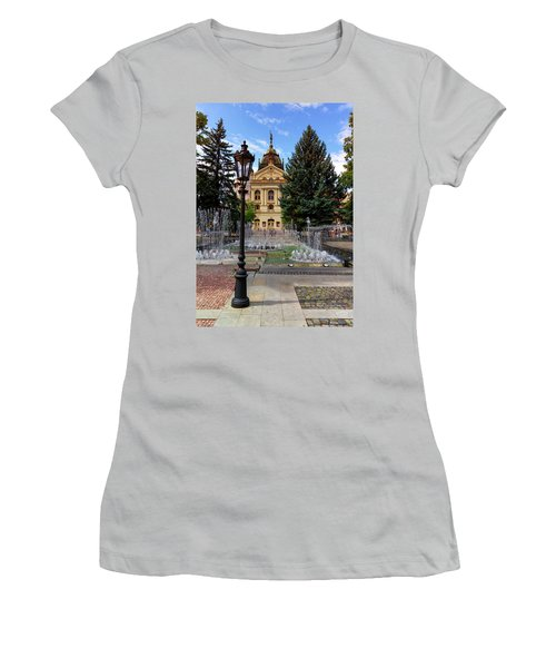State Theater In The Old Town, Kosice, Slovakia Women's T-Shirt (Athletic Fit)