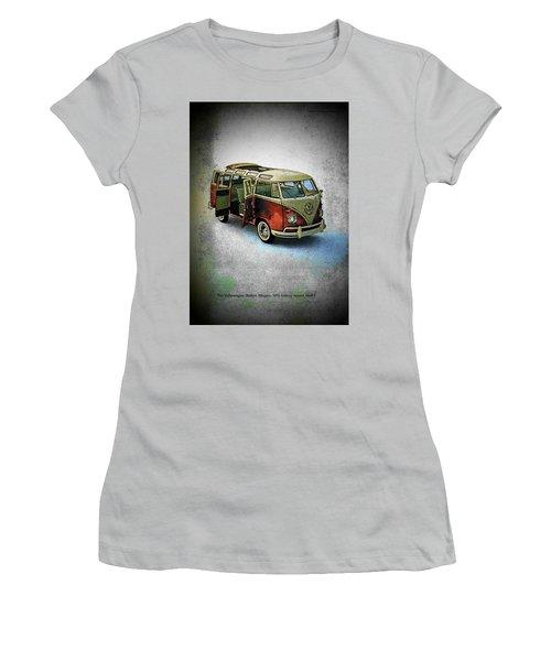 Station Wagon Women's T-Shirt (Junior Cut) by John Schneider