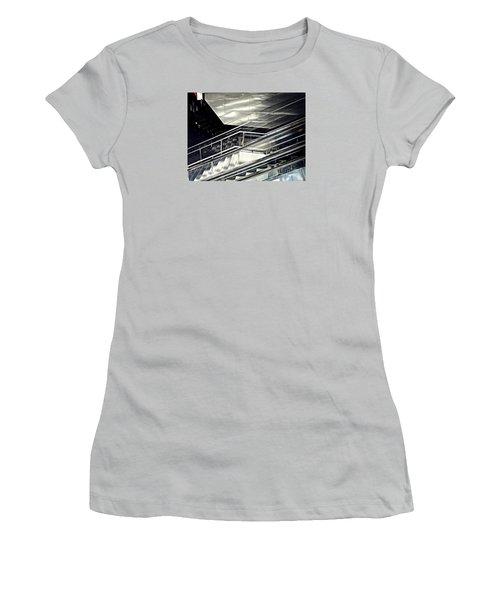 Steps Women's T-Shirt (Junior Cut) by Sarah Loft
