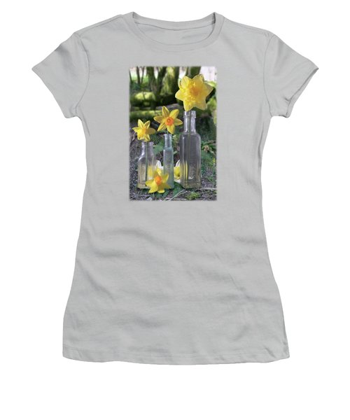 Still Life In The Woods Women's T-Shirt (Athletic Fit)