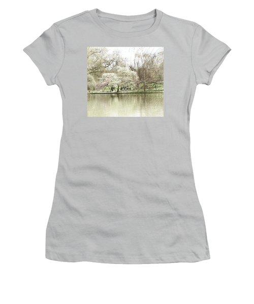 St. James Park London Women's T-Shirt (Junior Cut) by Judi Saunders