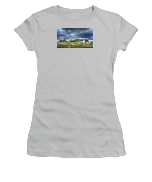 Stormy Peak 3 Women's T-Shirt (Junior Cut) by Mary Angelini