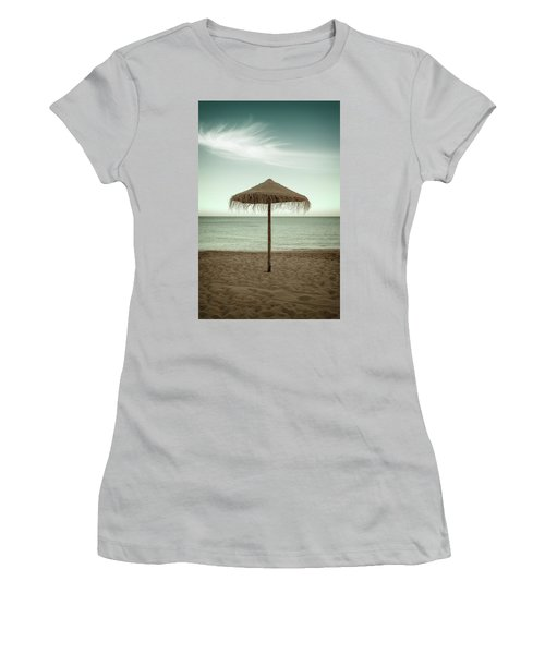 Women's T-Shirt (Junior Cut) featuring the photograph Straw Shader by Carlos Caetano