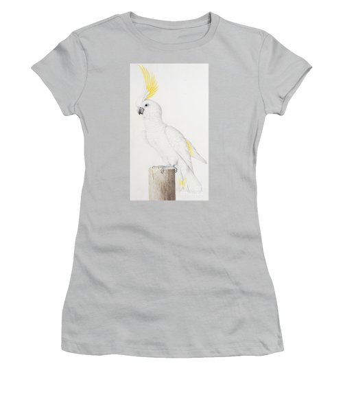 Sulphur Crested Cockatoo Women's T-Shirt (Junior Cut) by Nicolas Robert