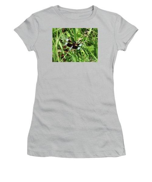 Summer Dragons Women's T-Shirt (Junior Cut) by J L Zarek