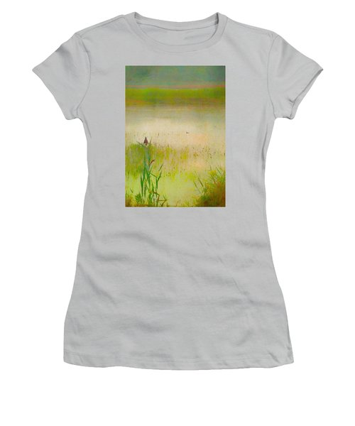 Summer Reeds Women's T-Shirt (Junior Cut) by Catherine Alfidi