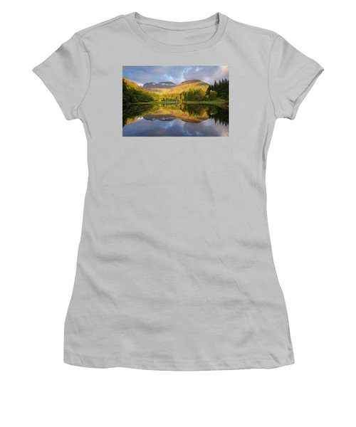 Summer Reflections At The Torren Lochan Women's T-Shirt (Athletic Fit)