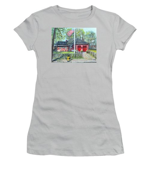 Summer Sunday At E4 Women's T-Shirt (Junior Cut) by Rita Brown