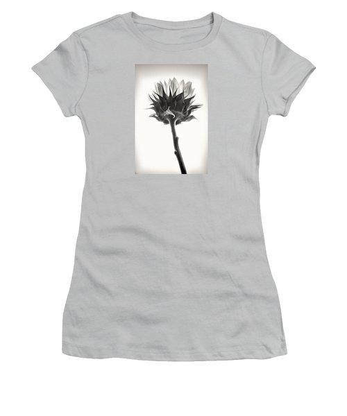 Women's T-Shirt (Junior Cut) featuring the photograph Sunflower by John Hansen