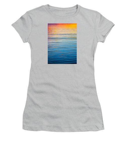 Sunrise Abstract  Women's T-Shirt (Junior Cut) by Parker Cunningham