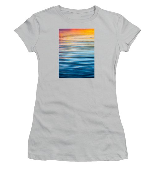 Sunrise Abstract  Women's T-Shirt (Athletic Fit)