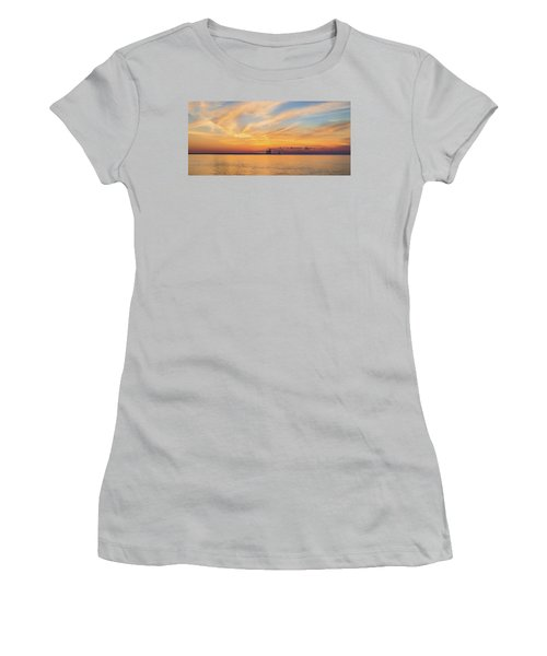 Women's T-Shirt (Junior Cut) featuring the photograph Sunrise And Splendor by Bill Pevlor
