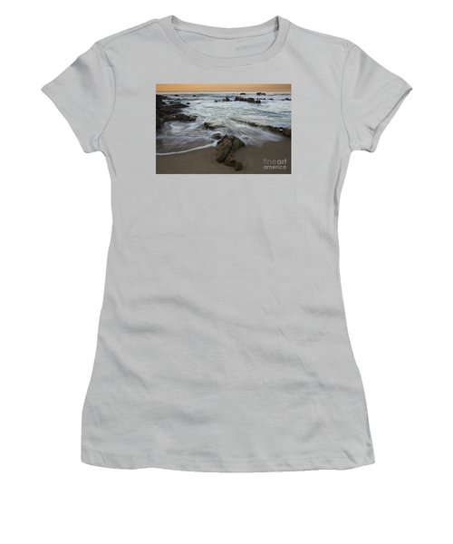 Sunrise At Laguna Beach Women's T-Shirt (Athletic Fit)