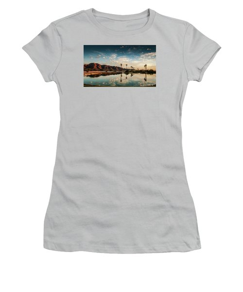 Sunset At Las Barancas Women's T-Shirt (Junior Cut) by Martina Thompson