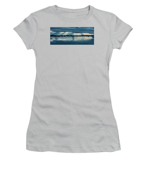 Sunset At Yamba Nsw Women's T-Shirt (Athletic Fit)