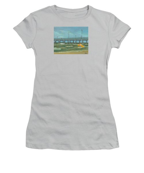 Surf Bound Women's T-Shirt (Athletic Fit)