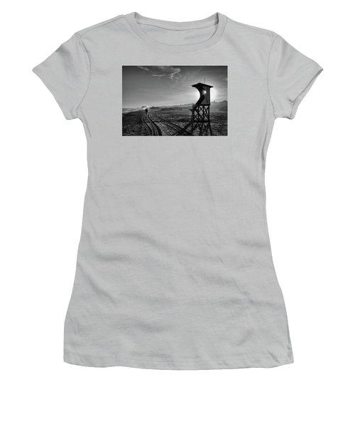 Surfer Women's T-Shirt (Athletic Fit)