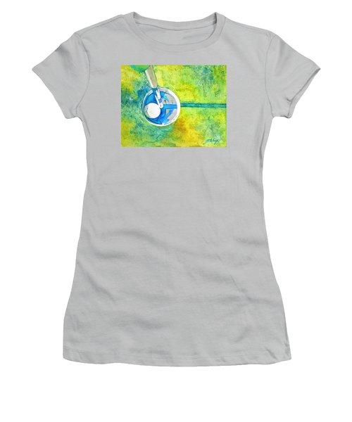 Sweet Anticipation - Golf Series Women's T-Shirt (Junior Cut) by Betty M M Wong