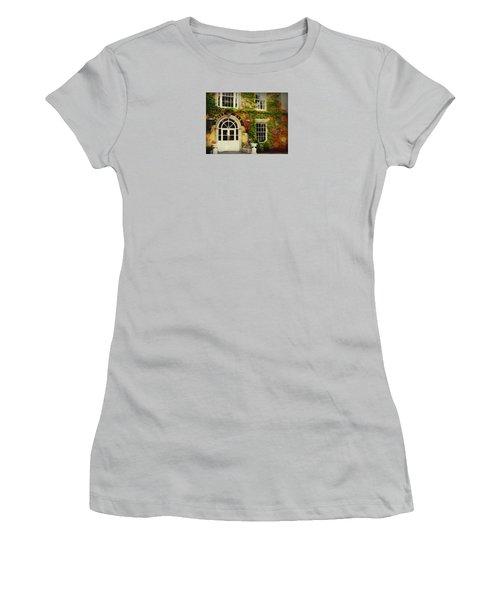 Women's T-Shirt (Junior Cut) featuring the photograph Swift Bar In Dublin Ireland by Robin Regan