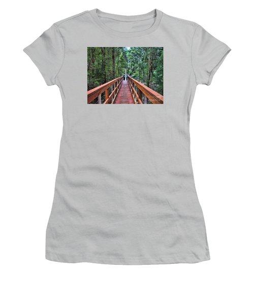 Swing Bridge Women's T-Shirt (Athletic Fit)