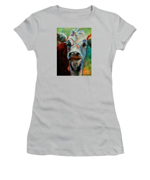 Swiss Cow - 1 Women's T-Shirt (Athletic Fit)