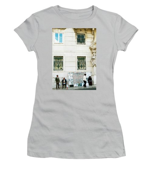 Taking It To The Streets Women's T-Shirt (Junior Cut) by Lorraine Devon Wilke