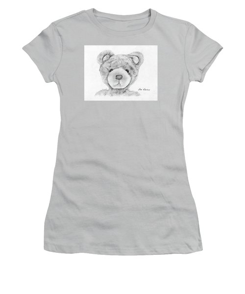 Teddybear Portrait Women's T-Shirt (Athletic Fit)