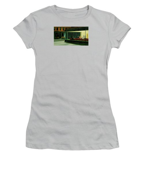 Test Mountain Women's T-Shirt (Athletic Fit)