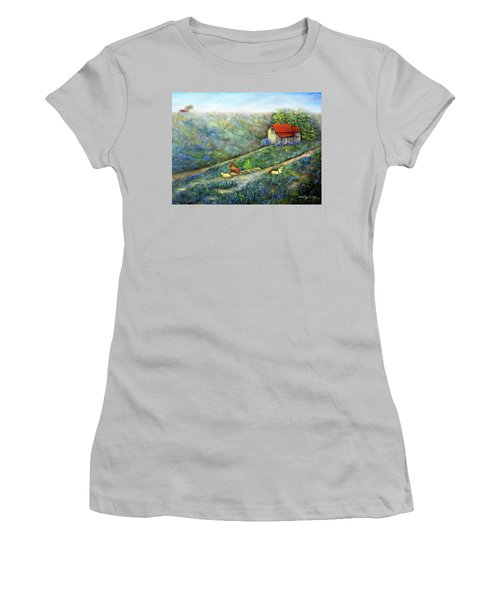 Texas Morning Women's T-Shirt (Athletic Fit)