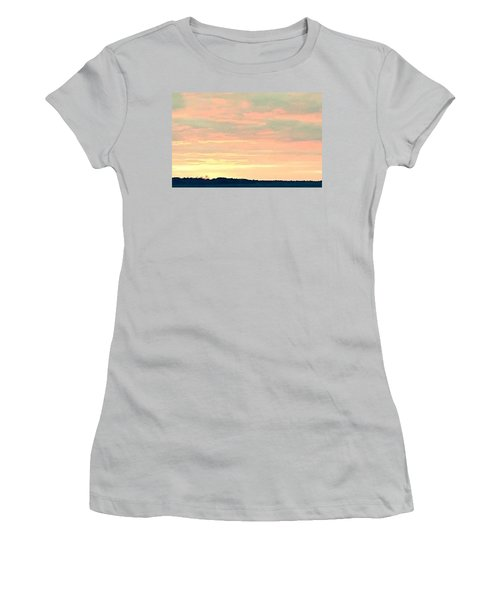 Women's T-Shirt (Junior Cut) featuring the photograph Texas On The Horizon by John Glass