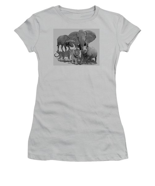 The Big Five Women's T-Shirt (Athletic Fit)