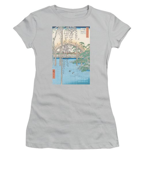 The Bridge With Wisteria Women's T-Shirt (Athletic Fit)