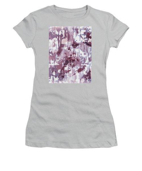 The Colors Of Love Women's T-Shirt (Junior Cut) by Moustafa Al Hatter