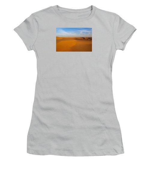 The Desert  Women's T-Shirt (Junior Cut) by Jouko Lehto