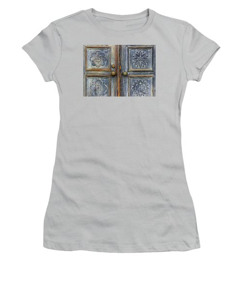 The Door Women's T-Shirt (Junior Cut) by Ranjini Kandasamy