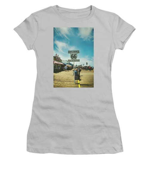 The End Of Sixty-six Women's T-Shirt (Athletic Fit)