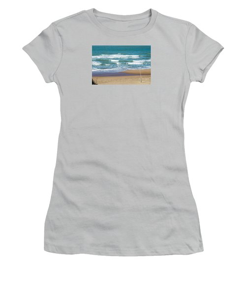 The Fishing Pole Women's T-Shirt (Athletic Fit)
