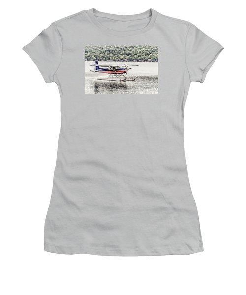 The Float Women's T-Shirt (Junior Cut) by William Norton