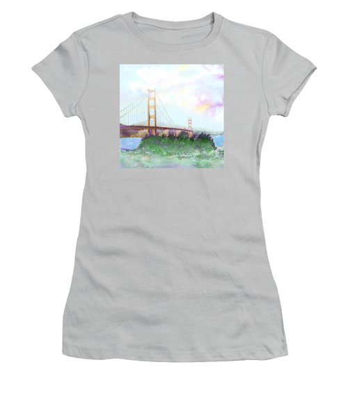 The Golden Gate Women's T-Shirt (Athletic Fit)
