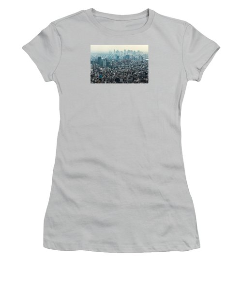 The Great Tokyo Women's T-Shirt (Junior Cut) by Peteris Vaivars