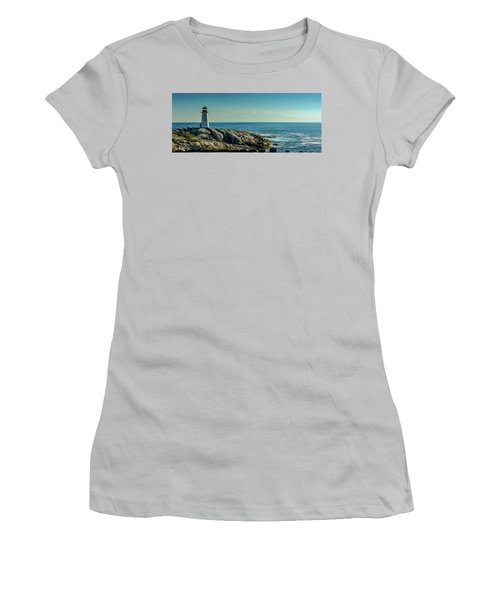 The Iconic Lighthouse At Peggys Cove Women's T-Shirt (Athletic Fit)
