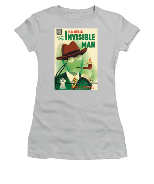 The Invisible Man Women's T-Shirt (Junior Cut) by Gerald Gregg