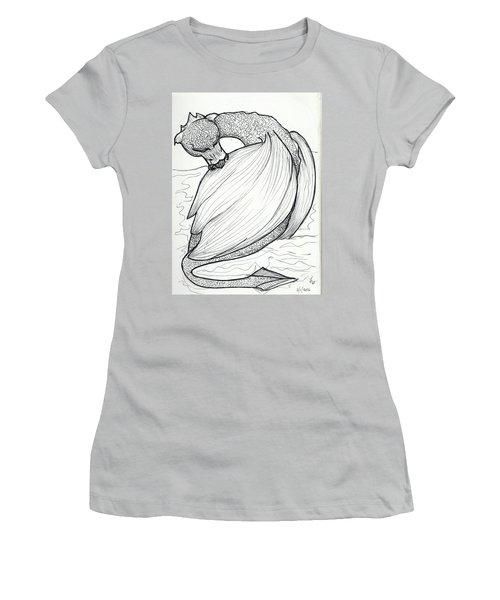 The Itch Women's T-Shirt (Junior Cut) by Loretta Nash