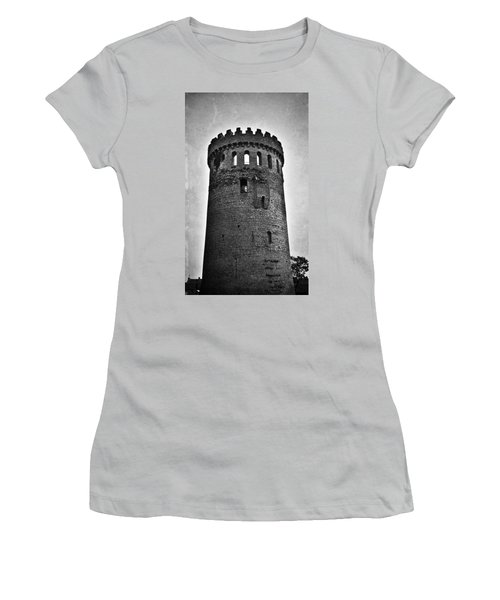 The Keep At Nenagh Castle In Nenagh Ireland Women's T-Shirt (Athletic Fit)
