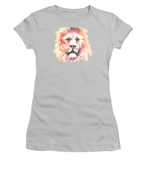 The King T-shirt Women's T-Shirt (Junior Cut) by Herb Strobino