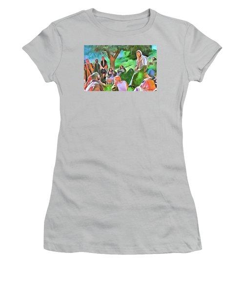 The Master Teacher Women's T-Shirt (Junior Cut) by Wayne Pascall